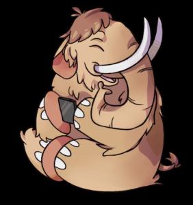 Mastodon sare sozialaren logotipoa